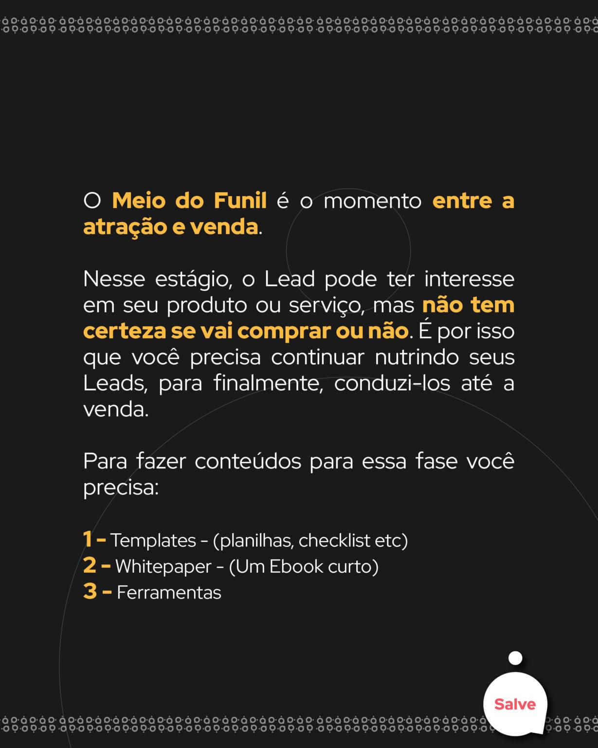 Funil de Marketing | CHA Social